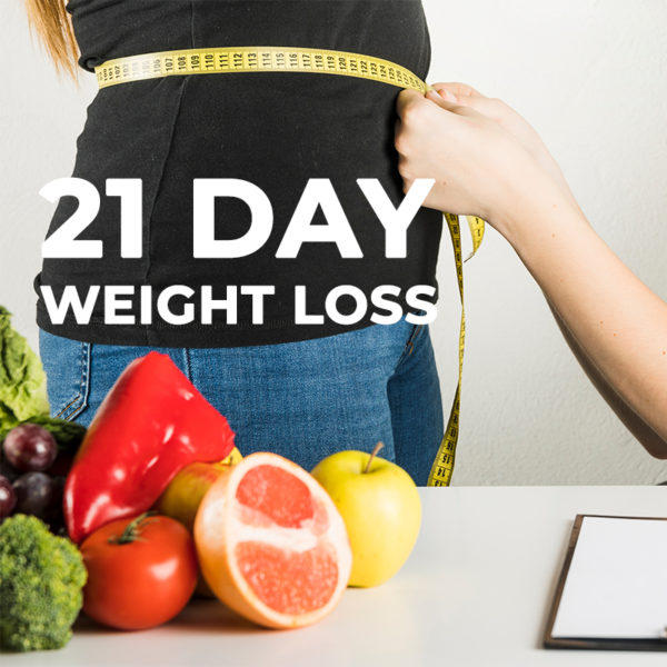 21 Day weight loss